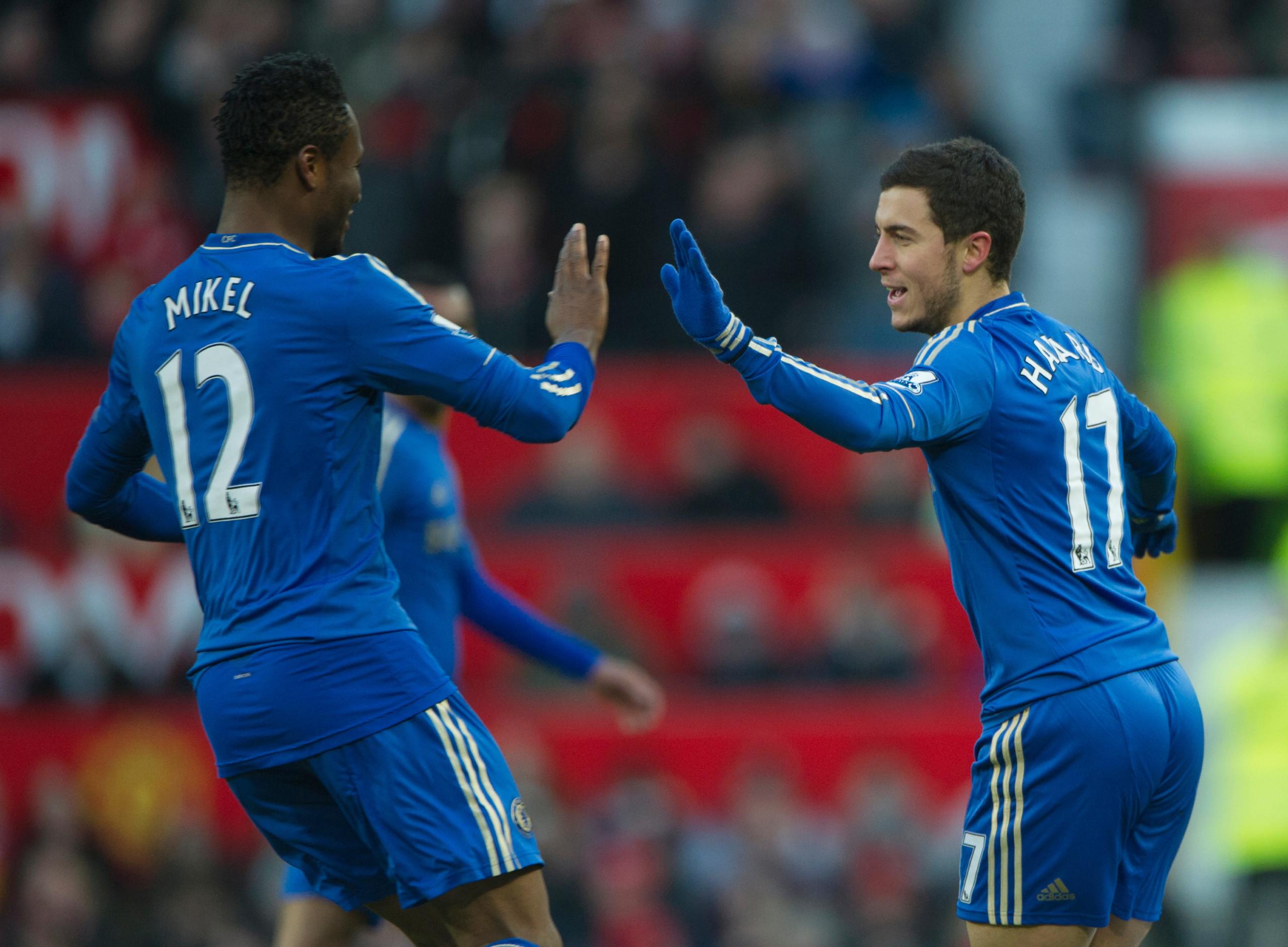 Mikel, Hazard, Chelsea