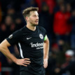Frankfurt's Abraham banned for seven weeks for barging over Freiburg's coach