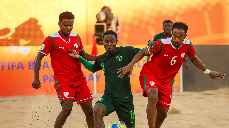 Beach Soccer World Cup Oman Nigeria