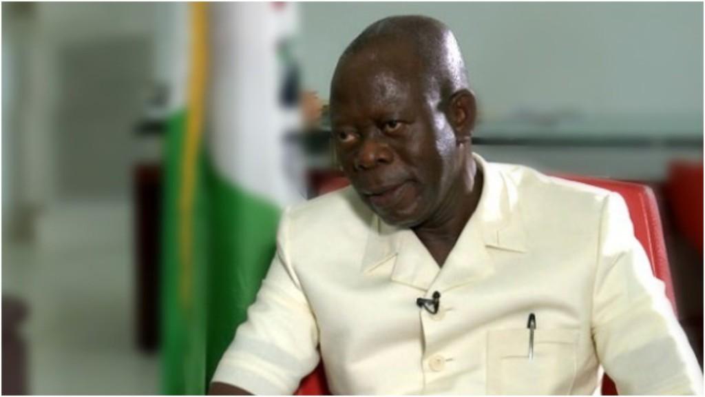 Edo APC ward chairman kicks, says Oshiomhole remains suspended