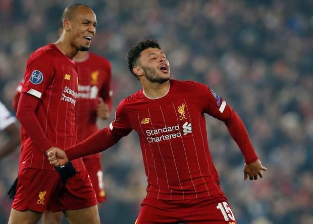 Liverpool, Oxlade-Chamberlain, Salah