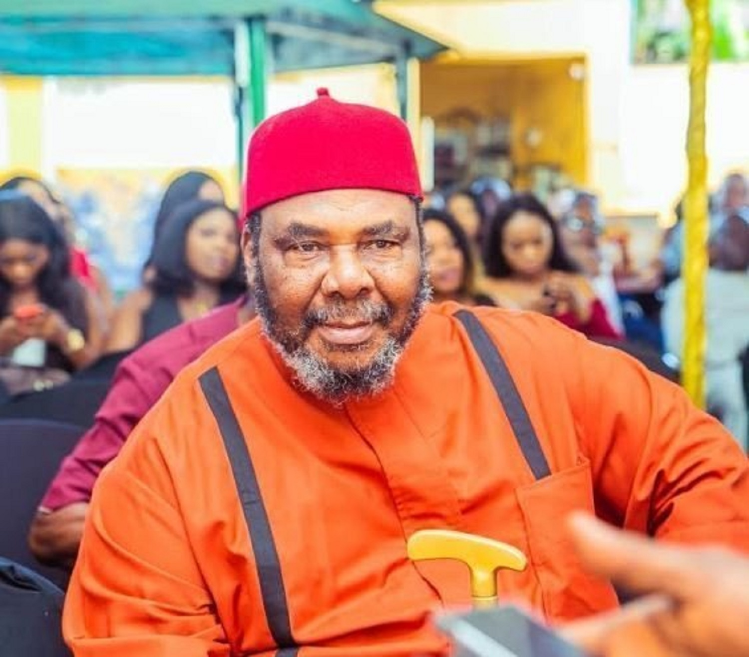 Pete Edochie honoured with African Film Legend award at TAFF 2020