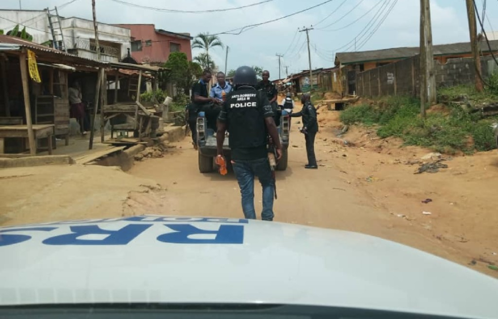 Police arrest 3 suspected armed robbers in Lagos