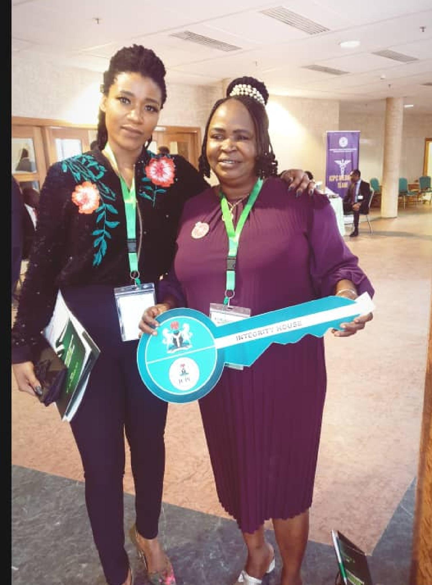 Temi Okesanjo, airport cleaner, presidency