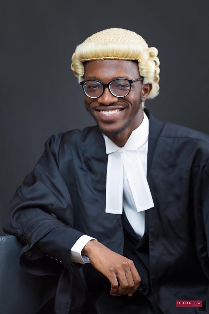 Babcock graduate, Abiru, emerges best graduating student at Law School