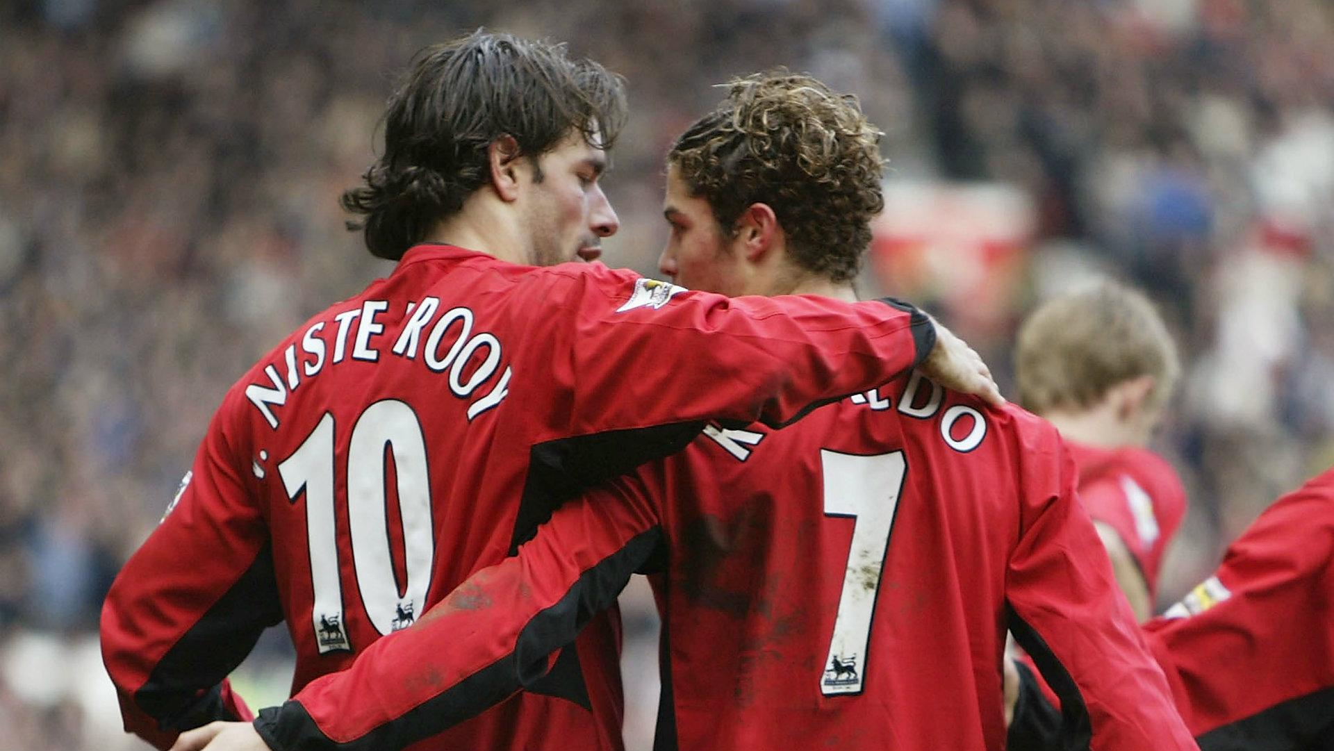 Ronaldo, Van Nistelrooy, Man United