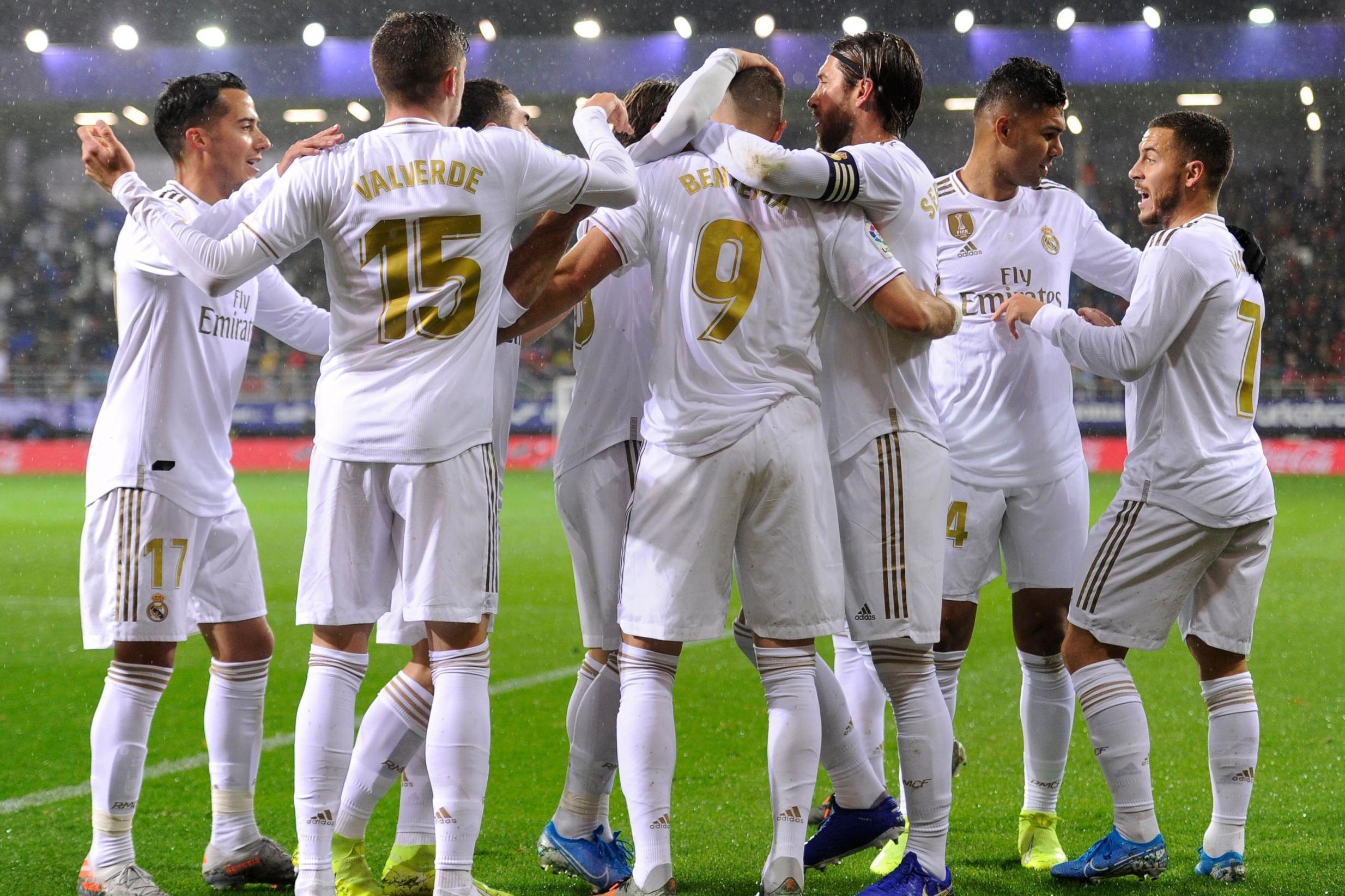 Real Madrid, Eibar, Benzema