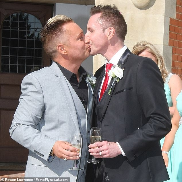 Gay father who left husband to start new relationship with daughter's boyfriend planning to have twins