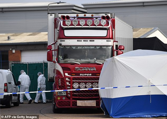 Man from Essex arrested over deaths of 39 found in lorry
