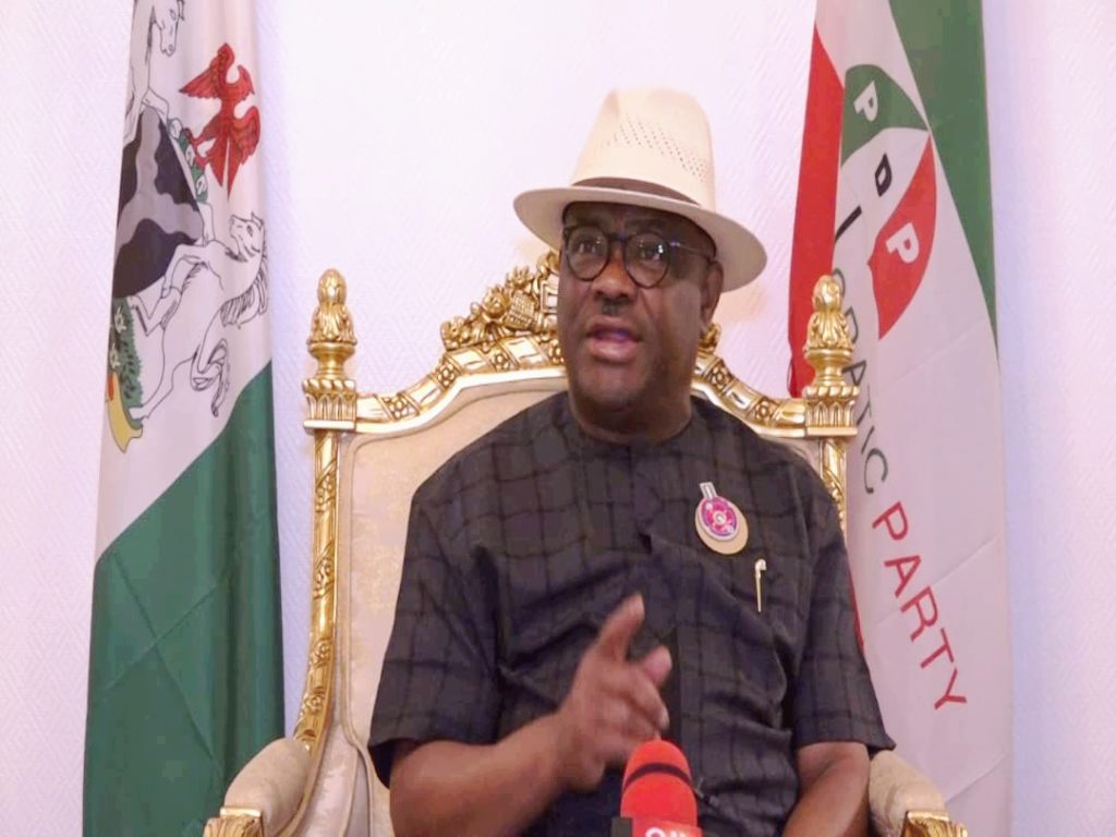Governor Wike rejects PDP'S intervention in disagreement with Dickson