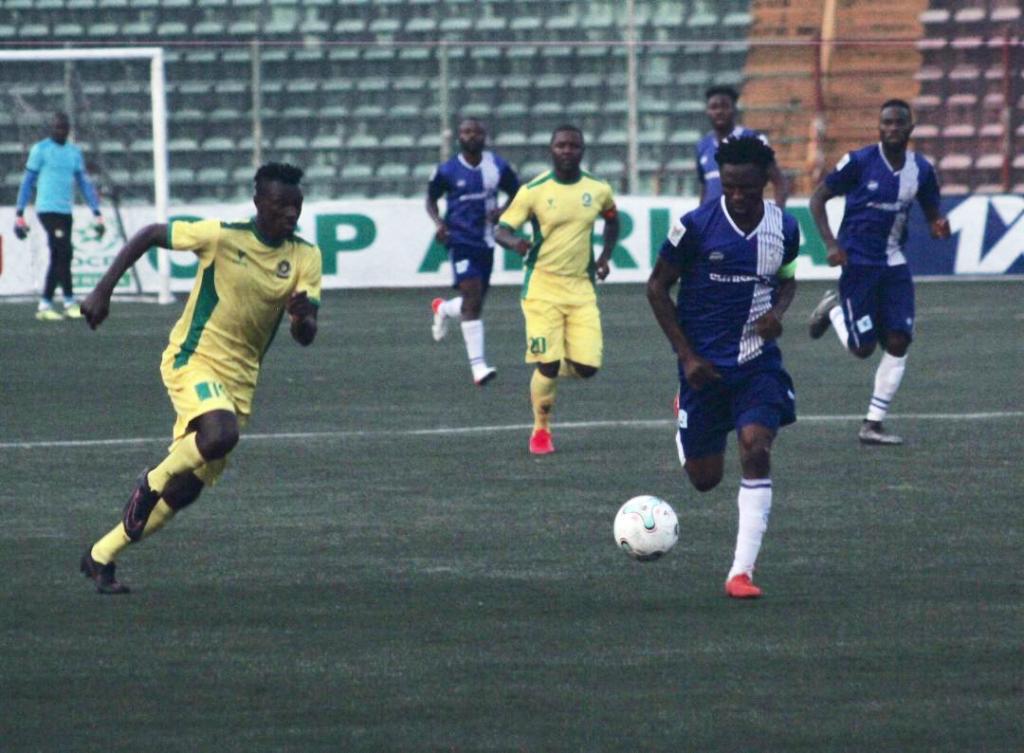NPFL: 10-man Rivers United, Katsina United