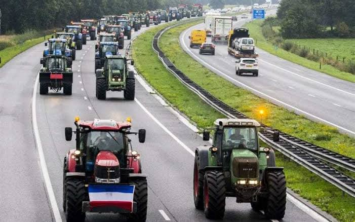 Dutch, Farmers, EU, Protest
