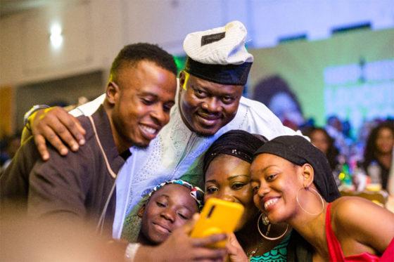 Actor Muyiwa Ademola joins Maltina's 'Laf Up' show in Ibadan
