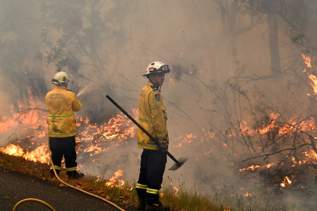 Australia, bushfires