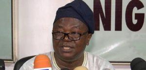 National President ASUU, Biodun Ogunyemi