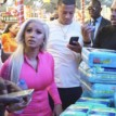 Cardi B visits orphanage home in Lagos (photos)