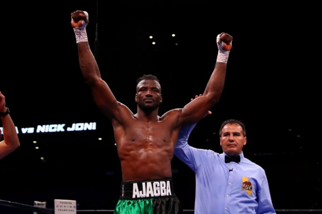 Efe Ajagba Nigerian boxer