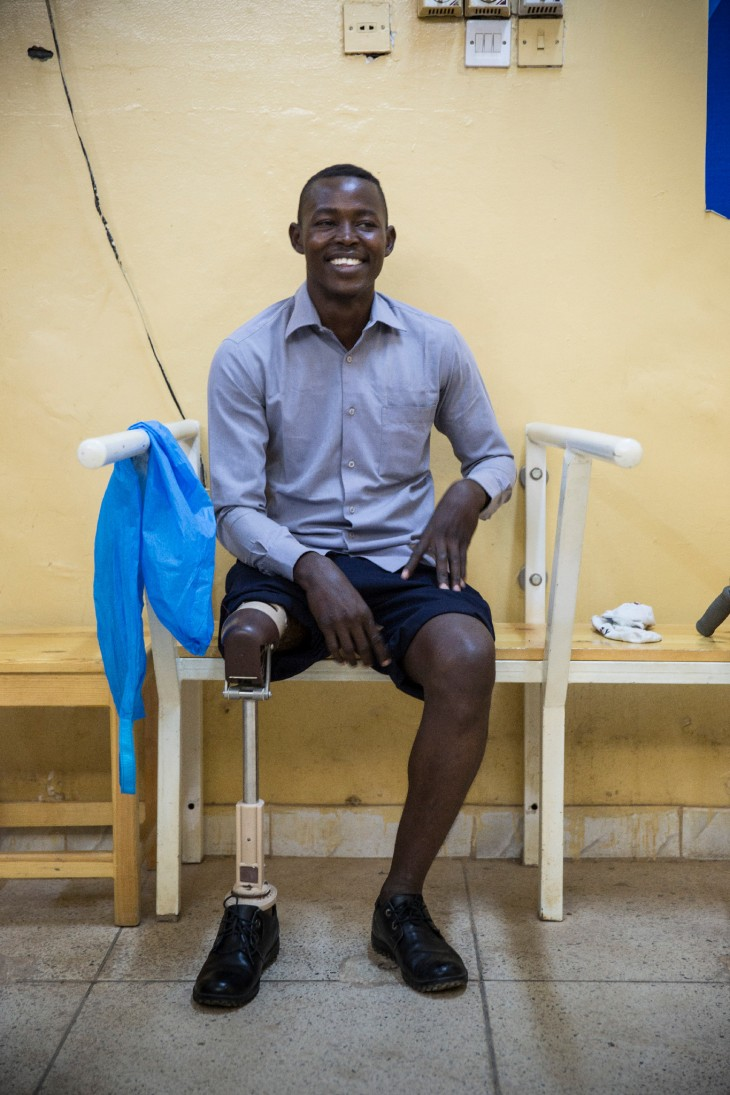ICRC Sudan: I lost my leg but I am physically fit — Faris