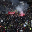 Thousands French march against pension reforms
