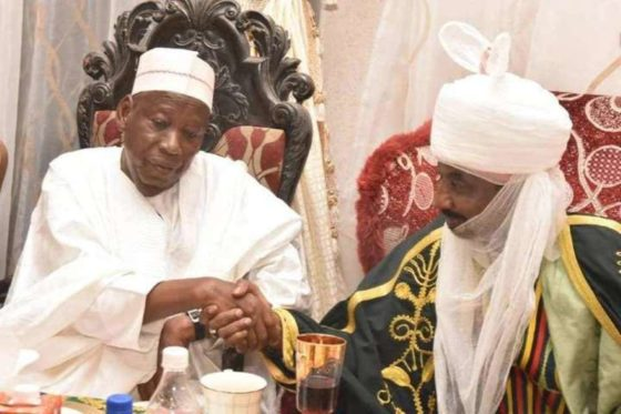 Withdraw case before court now, embrace decision ― Ganduje's aide tells Sanusi