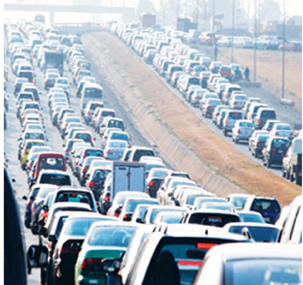 Gridlock, chaos as truck overturns in Lagos
