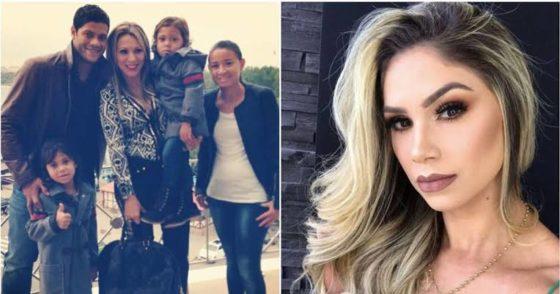 Brazilian striker, Hulk, splits with wife of 12 years, dates wife's niece