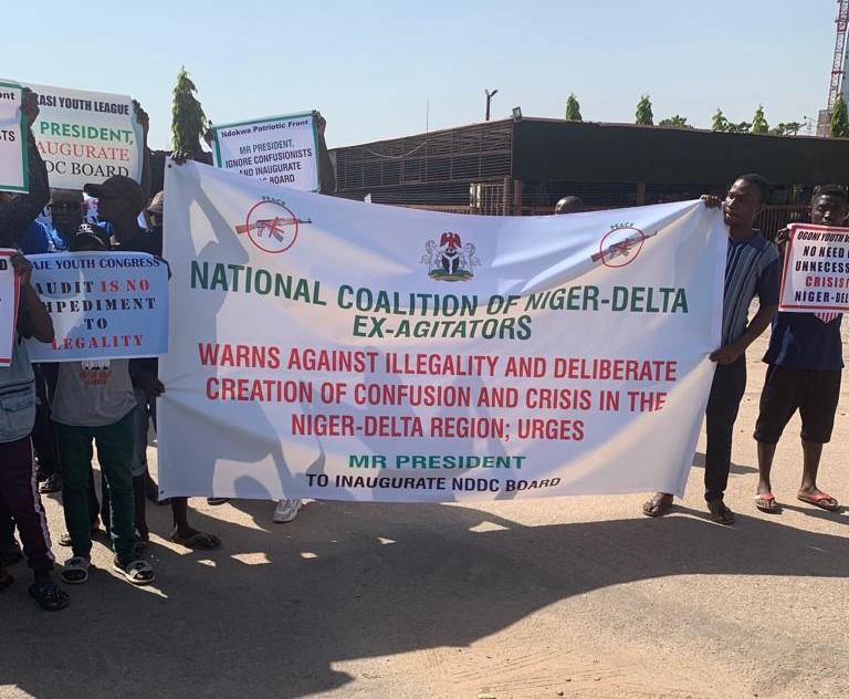 Inaugurate NDDC Board to avert Crisis, ex-agitators, N'Delta groups tell Buhari