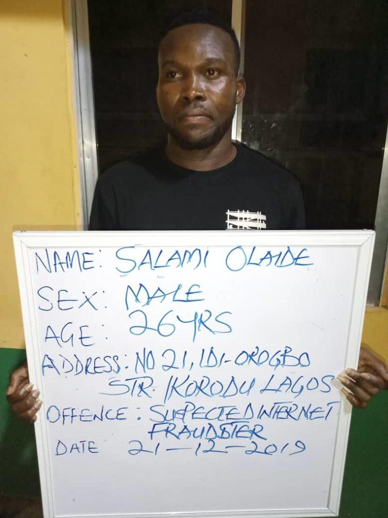 Police arrest internet fraudster, fake grant operator