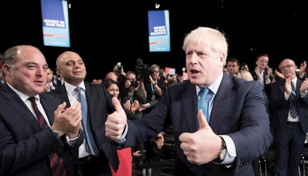 Boris Johnson, England