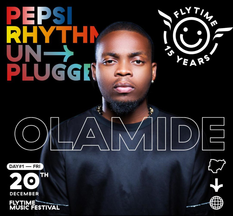 Olamide, Flytime, pepsi rhythm unplugged 2019