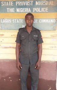 Police Sergeant Lukmon Akanbi