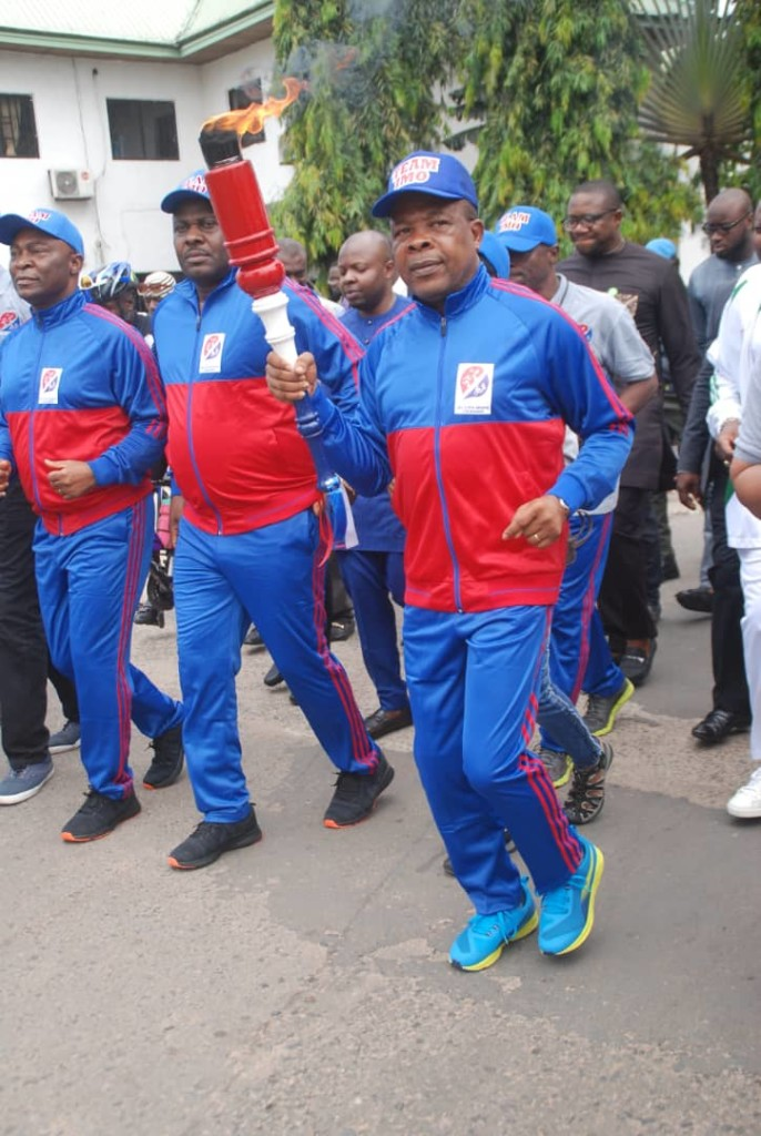 Imo SportsFestival: Governor Ihedioha lights up unity torch
