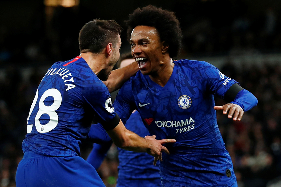 Chelsea's Willian has offers from two Premier League clubs