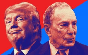 Trump (Left) and Bloomberg (Right)
