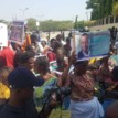 Women storm court, protest half-naked over Sowore's continued detention