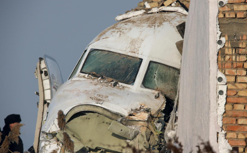 Plane crashes in Kazakhstan shortly after takeoff, at least 14 dead