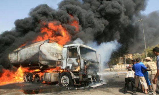 Mother, daughter, vulcaniser burnt as tanker explodes in Ogun