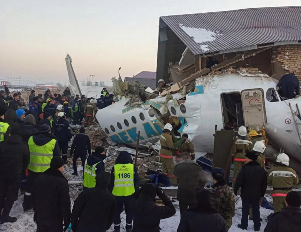 Kazakhstan, Plane crash