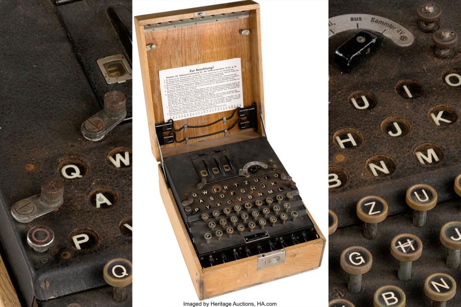 Nazi Enigma machine, Auction