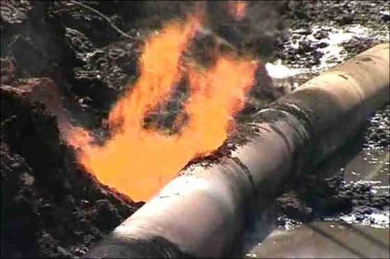 Nigeria records 2,181 vandalised pipeline points in one year