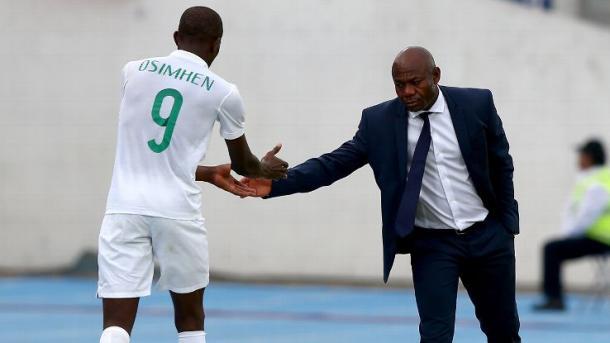 Victor Osimhen, Emmanuel Amuneke