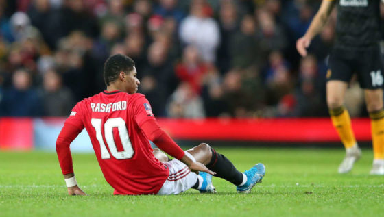 Rashford out for 2-3 months as Man United 's misery continues