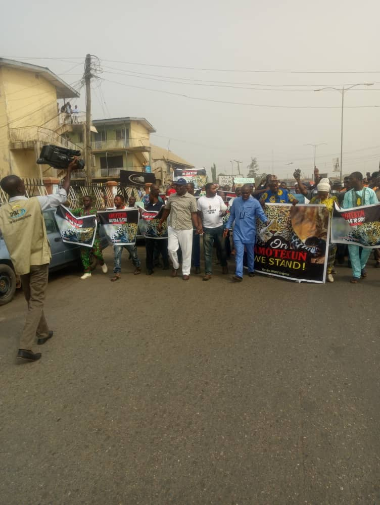 Yoruba World Congress begins Amotekun protest in Osun