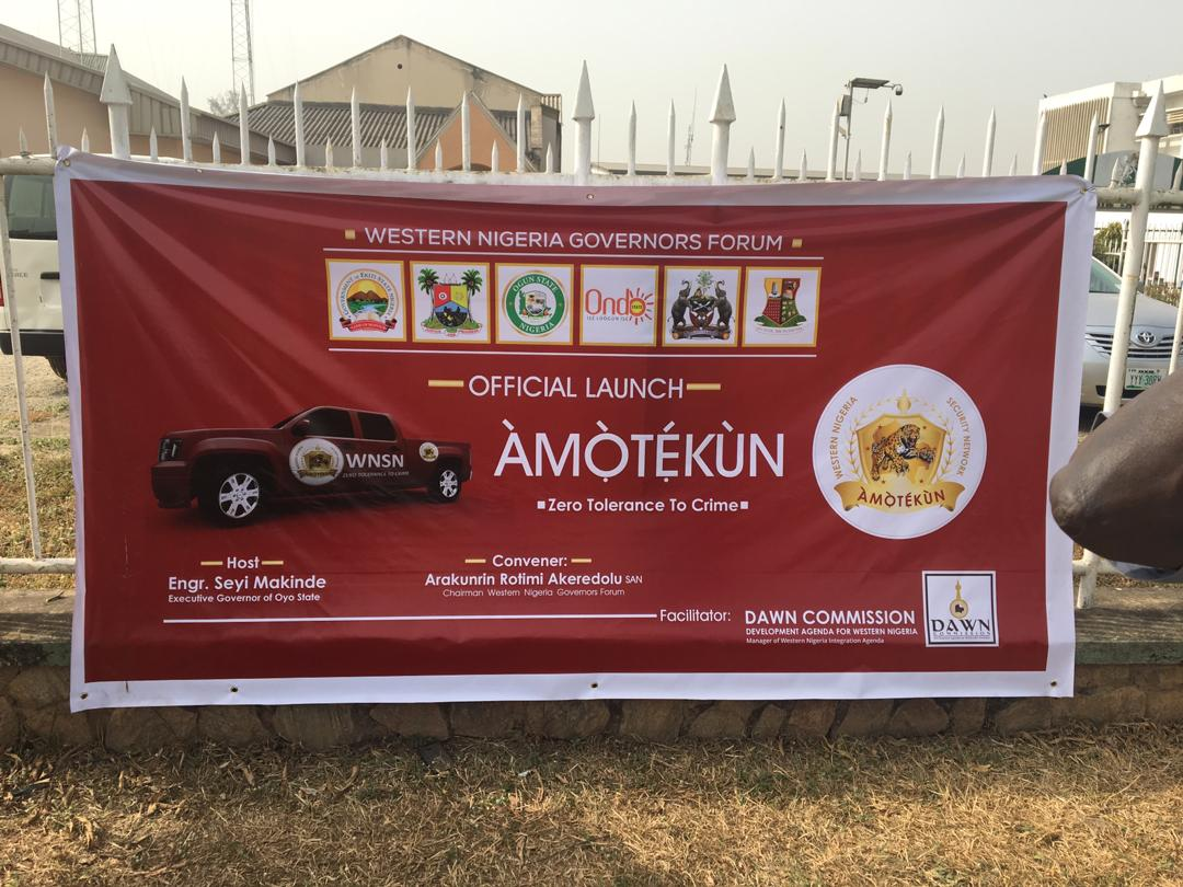Amotekun serves as response to South west call on security challenges ― Gbenga Daniel