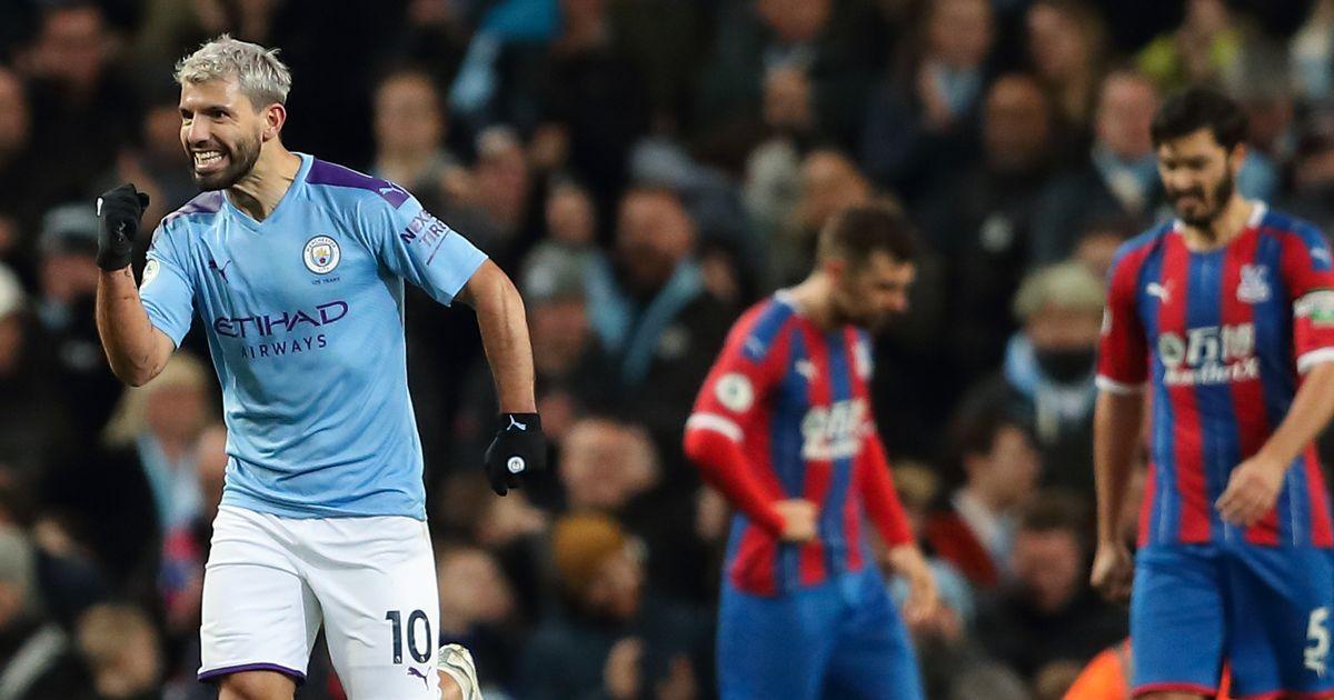 Sergio Aguero, Man City, Crystal Palace