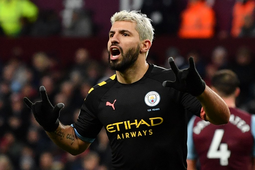 Sergio Aguero, Player of the Month