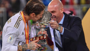Real Madrid captain and manager