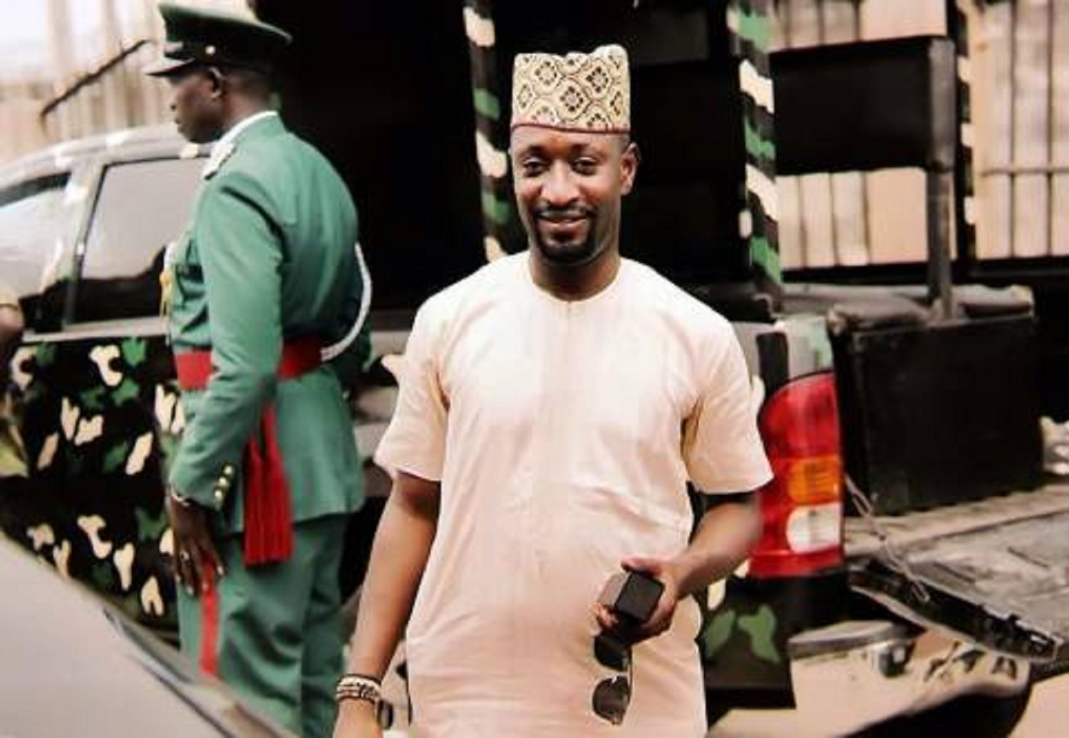 I'm labourer, not fish farm investor, Anthony Okolie, man who used Buhari's daughter's number