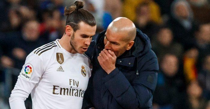 Bale, Zidane, Real Madrid