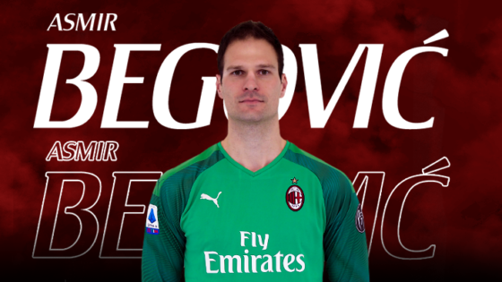 Begovic replaces Reina at AC Milan